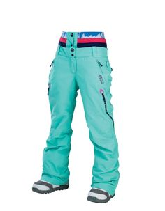 Picture Organic Clothing Ladies Ski Snowboarding Pants Palace Mint Green