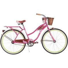 26 Huffy Panama Jack Womens Cruiser Bike Pink * Click on the image for additional details. (This is an affiliate link) #Bikes