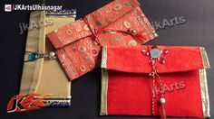 DIY How to make Shagun envelope for gifting in wedding, trousseau and ba...