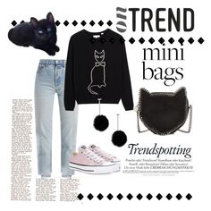 """""""Mini Bags 1"""" by forgottenmelody on Polyvore featuring Vetements, Converse, STELLA McCARTNEY, Melissa and tuleste market"""