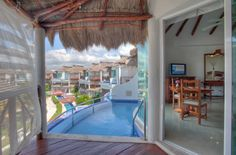One of the coolest things at the El Dorado Casitas Royale, by Karisma, is your own personal infinity pool on the terrace of your suite. #paradise #funjet