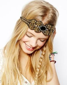 ASOS Heavy Metal Headband ~ More Flapper looking to me
