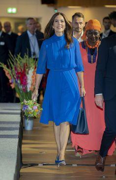 Prince Frederick, Queen Margrethe Ii, Danish Royalty, Danish Royal Family, Crown Princess Mary, Mary Elizabeth, Casual Elegance, Royal Fashion, Blue Dresses