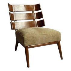Rare Vintage Mid-Century Robsjohn-Gibbings Chair
