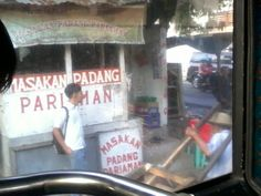 This is a good picture of urban jakarta taken on the first October 2013. this is a picture of a local food place where most people when to buy food for a good price. I like this picture because it is attractive and easy to find in many places