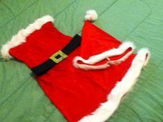 DIY Santa Baby Costume #Mathletes Diy Christmas Gifts, Christmas Stockings, Holiday Decor, Christmas Stuff, Xmas, Santa Costume, Santa Baby, Baby Costumes, Christmas Traditions