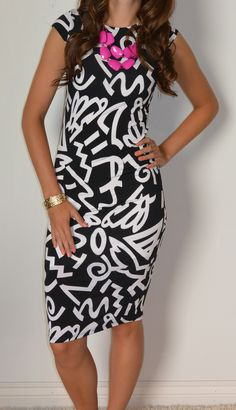 Love this dress! I'd never wear it, but I love it! #sexymodestboutique
