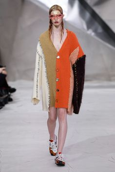See all the looks from the show. Cold Weather Fashion, Marni, Fashion News, Knitwear, Fall Winter, Knitting, My Style, Sweaters, Collection