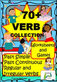 It is much easier to explain the meanings of English verb vocabulary by using visual support and less time consuming for students if they dont have to constantly make reference to a home language dictionary. Over 70 verbs are introduced in reference pages which can be used when completing the worksheets if verbs are unknown.