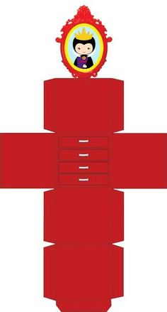 Mirror Box, White Mirror, Paper Toys, Paper Crafts, Art Blanc, Diy Barbie Furniture, 3d Craft, 3d Pattern, Diy Gift Box