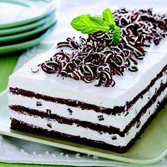 Mint layered cake