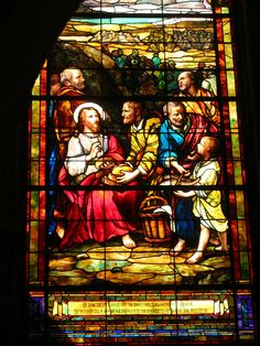 stanford church stained glass window