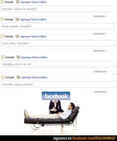Facebook es el nuevo psicólogo.
