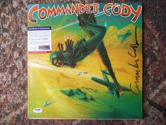 COMMANDER CODY-FLYING DREAMS SIGNED AUTOGRAPHED-COMMANDER CODY-PSA/DNA-