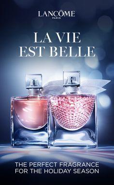 Discover Parisian femininity and sparkling radiance. La Vie Est Belle and New La Vie Est Belle L'Eclat from Lancôme Paris.