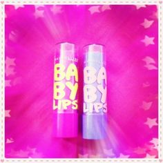 Maybelline Baby Lips.