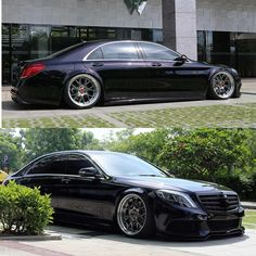 Only low. Only Mercedes-Benz. Tuner Cars, Jdm Cars, Benz S Class, Best Luxury Cars, Sports Sedan, Mercedes Benz Cars, Cars And Coffee, Car Wheels, Sport Cars