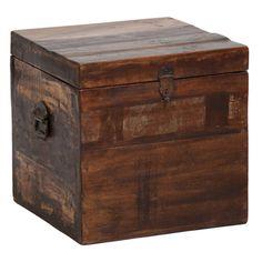 Bali Small Recycled Wood Box
