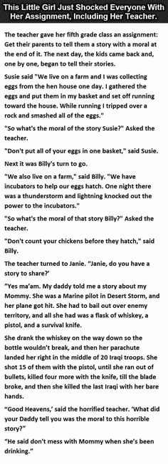 This little girl shocked everyone with her assignment funny quotes quote jokes lol funny quote funny quotes funny sayings joke humor omg funny kids