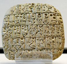 tablette juridique : contrat de vente d'un champ et d'une maison, Shuruppak, v. 2600 av. J.-C.