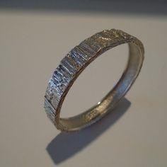 Knud V. Andersen/Anton Michelsen Bark Bangle Bracelet #1215* from lmkling.com