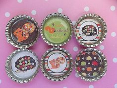 Easter Basket Fillers Glitter Magnets Woodland Animals Squirrels Party Favors  #BoutiqueChicGallery