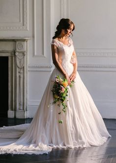 Primrose by Naomi Neoh #weddingdress #Aline