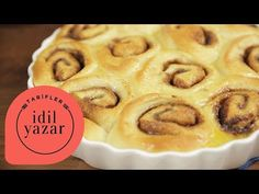 Tarçınlı Rulo Tarifi | Yemek Tarifleri - YouTube Pie, Cookies, Tube Video, Desserts, Youtube, Food, Torte, Biscuits, Cake