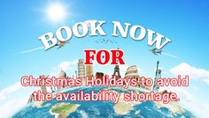 Book transfer for Christmas Holiday: #Eatransfer Book your transfer in advance with London Airport Transfer to avoid last minute rush and availability shortage in Christmas holiday. Get in touch with us  info@eatransfer.com .