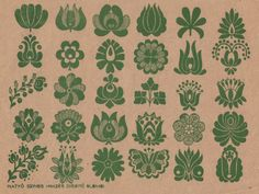 Folk Embroidery Patterns Hungarian embroidery tulip pattern (possible tattoo idea) Embroidery Designs, Embroidery Motifs, Learn Embroidery, Embroidery For Beginners, Embroidery Techniques, Embroidery Tattoo, Floral Embroidery, Hungarian Tattoo, Hungarian Embroidery