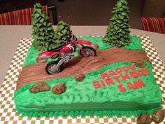 Dirt bike cake that is so cool Yum Yum in my Tum Tum Pinterest