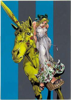 漫画JOJOの荒木飛呂彦が描くグッチ(GUCCI)のウィンドウデザイン - 全世界で展開の写真1
