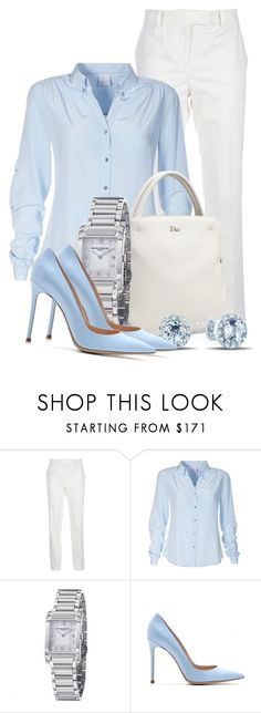 """""""Untitled #457"""" by merida ❤ liked on Polyvore featuring McQ by Alexander McQueen, Baume & Mercier and Gianvito Rossi"""