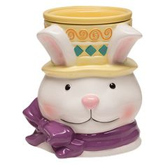 #Easter #Bunny Scentsy Warmer PREMIUM This regularly priced warmer at $35, is on sale for $14 only for a limited time! only through 7/6/15! www.wicklessleslie.com