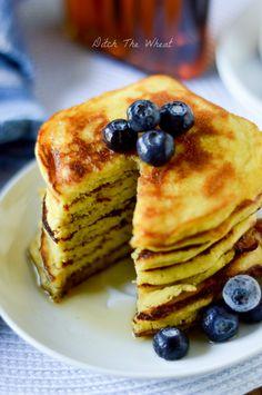 Coconut Flour Pancakes | Ditch The Wheat