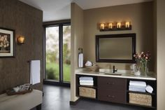 Whether you are remodeling your old bathroom or constructing a new one, these beautiful bathroom mirror ideas are fun, stylish and creative