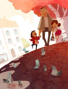 Children's Book Illustration, Character Illustration, Illustration Mignonne, Cartoon Drawings, Illustrations Posters, Bunt, Childrens Books, Illustrators, Book Art