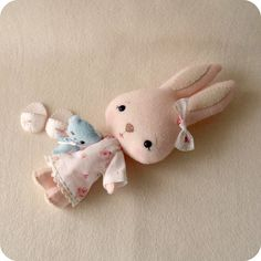 bunnycup pattern giveaway!! by Gingermelon, via Flickr
