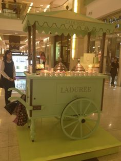 Laduree Ice Cream Cart Spotted in Salhiya