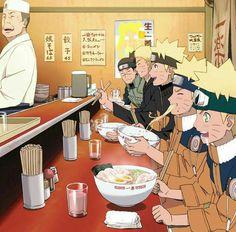Naruto evolução no Ichiraku