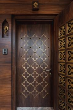 15 Indian Main Door Designs That Make a Great First Impression 15 Indian Main Door Designs That Make a Great First Impression,Bedroom door design 15 Indian Main Door Designs That Make a Great First. Pooja Room Door Design, Bedroom Door Design, Door Design Interior, Exterior Design, Room Interior, Home Door Design, Indian Interior Design, Indian Home Design, Rustic Exterior