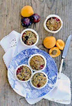 Vegan muffin  Muffin ai semi di lino e frutta