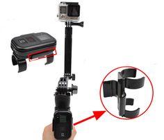 Gopro accessories Selfie stick's Wi-Fi Remote Control Clamp clip Mount Holder for Go Pro Hero 4 3 Video Camera Go Pro, Gopro Accessories, Selfie Stick, Video Camera, Clamp, Wi Fi, Consumer Electronics, Sticks, Remote