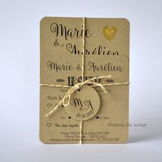 papeterie mariage papier and co wood wedding invitation. Black Bedroom Furniture Sets. Home Design Ideas