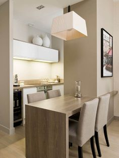 Small Dining Room Home Design Ideas Pictures Remodel And: Tips And Ideas To Decorate Small Dining Room Kitchen Room Design, Dining Room Design, Dining Rooms, Classy Living Room, Living Room Decor, Apartment Decorating On A Budget, Small Dining, Dining Furniture, Home Interior Design