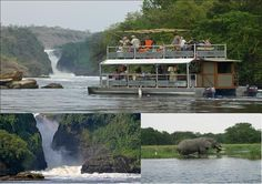 Boat cruise at Murchison Falls National park