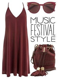 """""""music festival fashion"""" by j-n-a ❤ liked on Polyvore featuring See by Chloé, Sans Souci and Salvatore Ferragamo"""