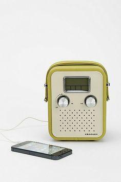 Crosley CR8006A Songbird Radio Speaker