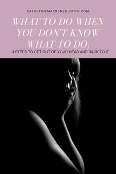 3 Steps to get out of your head and back to it. Introvert Quotes, Introvert Problems, Highly Sensitive Person, Sensitive People, Life Questions, This Or That Questions, Quarter Life Crisis, Life Choices, It's Meant To Be