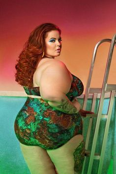 """I love that the swimwear is designed by an actual plus size woman. Not only does [Clarke] know what we need but she also gives us the sexy factor that's totally lacking in swimwear,"" 'Holliday said. ""She gets that we don't need to hide our bodies or feel bad for the way we look yet she makes swimwear that helps us embrace our size and look good."""
